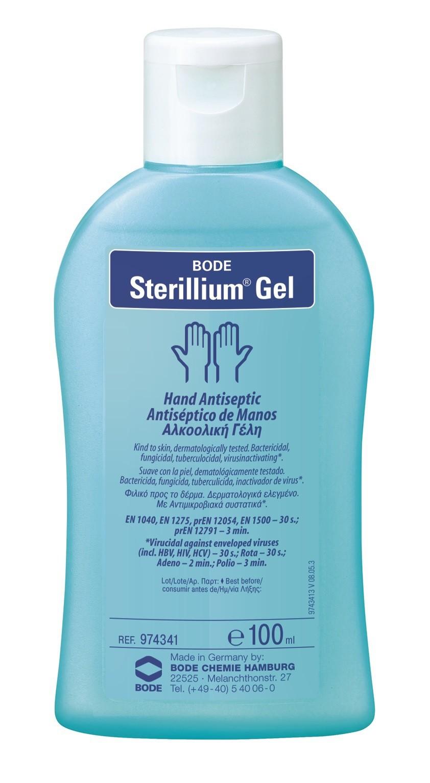 Sterillium Rub Dispenser ~ Sterillium gel hand disinfectant