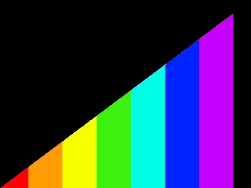 6165 Black with rainbow finish