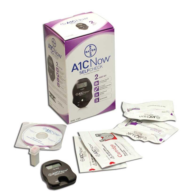 A1cnow Glycated Hemoglobin Monitor 10 Pcs