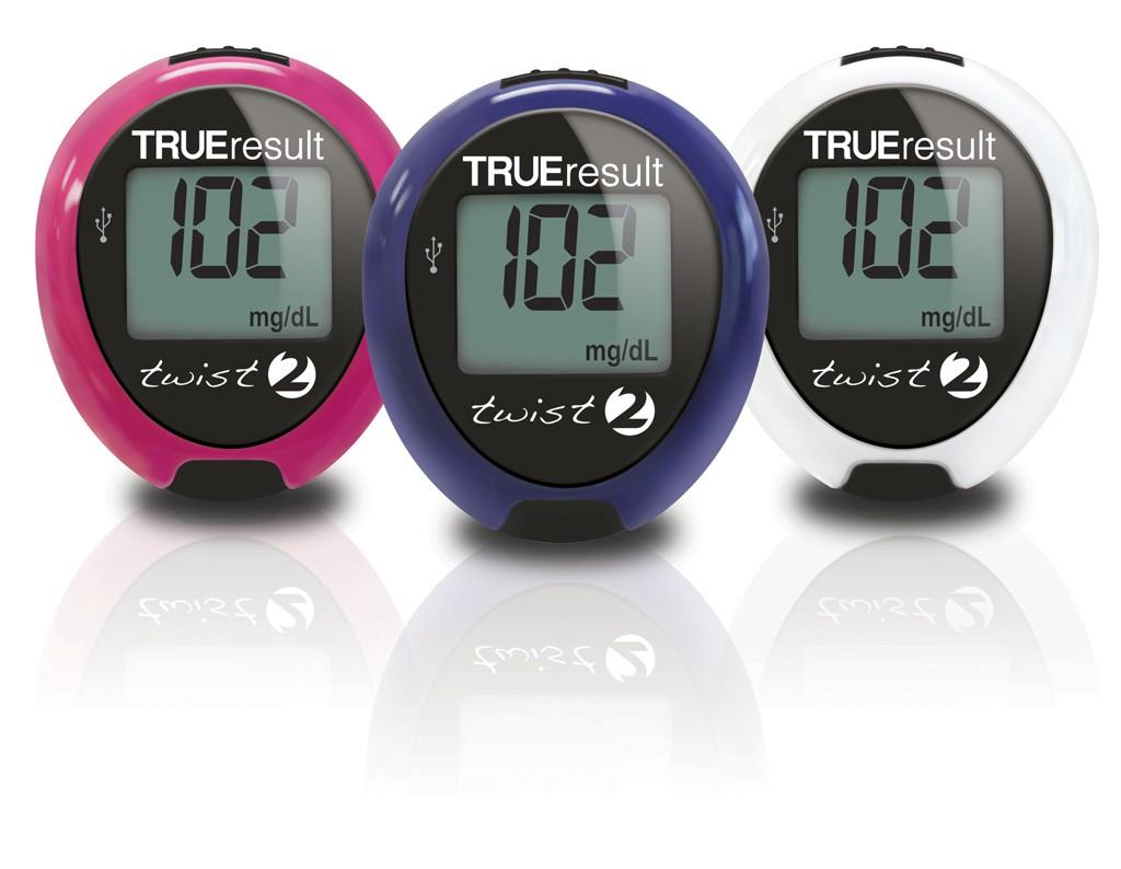 Trueresult Twist 2 Blood Glucose Mete